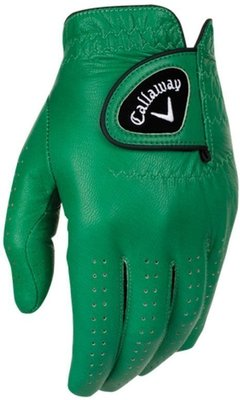Callaway Opti Color Mens Golf Glove 2016 Green Left Hand for Right Handed Golfers M