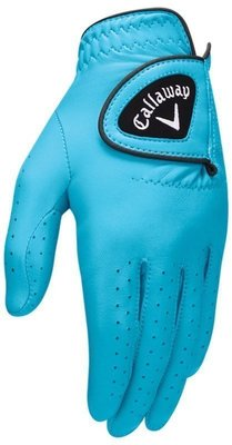 Callaway Opti Color Womens Golf Glove 2017 Aqua Left Hand for Right Handed Golfers L