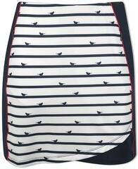 Callaway Pull-On Birdie Stripe Print Womens Skort