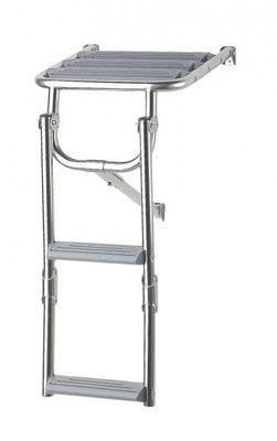 Nuova Rade Platform Ladder - Inox