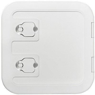 Osculati White flush inspection hatch 375x375mm