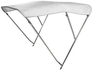 Osculati Bimini Top III Stainless White
