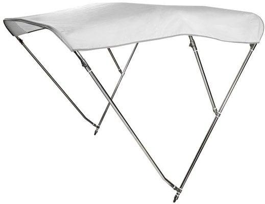 Osculati Nerezové Bimini Top III bílé - 190-200cm