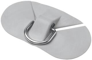Bravo Mooring plate 110 with ring / GREY - PVC