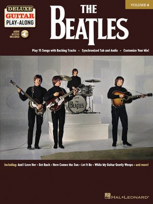 Hal Leonard The Beatles Deluxe Guitar Play-Along Volume 4
