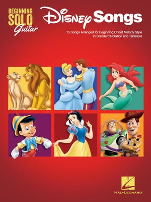 Hal Leonard Disney Songs – Beginning Solo Guitar