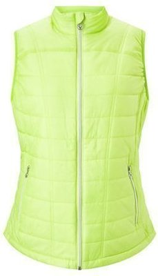 Callaway Quited Vest Sharp Green L Womens