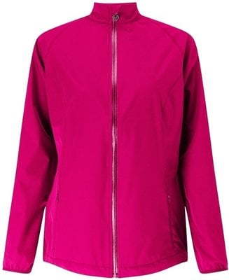 Callaway Full Zip Wind Jacket Pink Yarrow L Womens