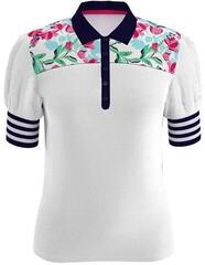 Callaway Brushstroke Print Womens Polo Shirt