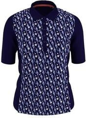 Callaway Hummingbird Print 1/2 Sleeve Womens Polo Shirt