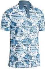 Callaway Floral Printed Mens Polo Shirt