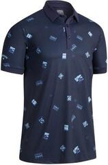 Callaway Postcard Printed Mens Polo Shirt