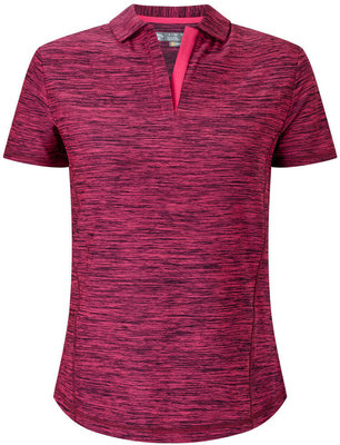 Callaway Shooting Star Polo Pink Yarrow M Womens