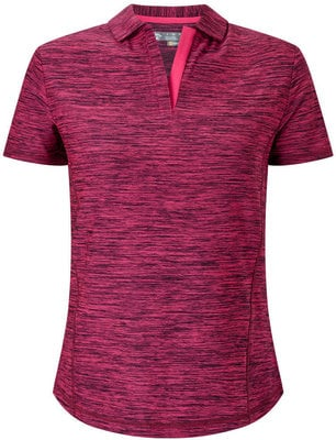 Callaway Shooting Star Polo Pink Yarrow L Womens