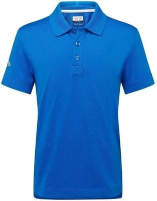 Callaway Youth Solid II Junior Polo Shirt Electric Blue Lemonade L