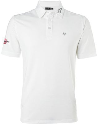 Callaway Tour Polo II Bright White XS Mens