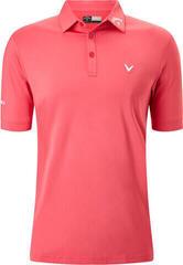 Callaway Tour II Mens Mens Polo Shirt Shirt Raspberry