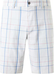 Callaway Large Scale Plaid Short Bright White 32 Mens