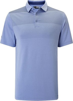 Callaway Jaquared Print Polo Chambray XL Mens
