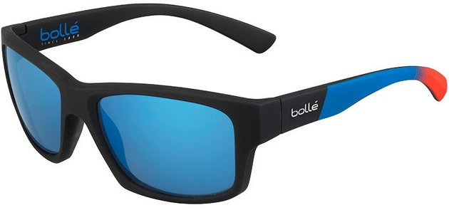 Bollé Holman Rubber Black Bahamas Polarized Offshore Blue oleo AR