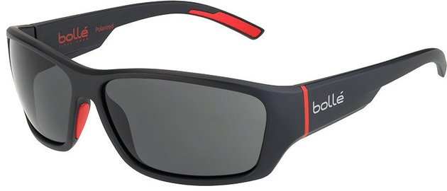 Bollé Ibex Matt Black Red Polarized TNS oleo AF