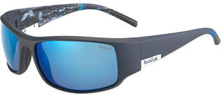 Bollé King Matte Blue Sea/Polarized Offshore Blue Oleo AR