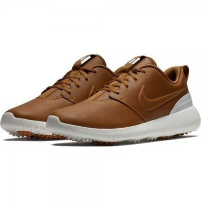 Nike Roshe G Premium Mens Golf Shoes Ale Brown/Ale Brown/Summit White US 8