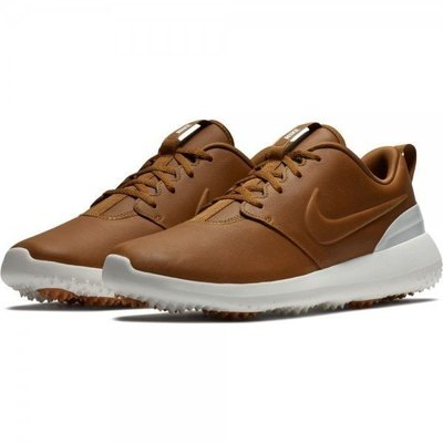 Nike Roshe G Premium Mens Golf Shoes Ale Brown/Ale Brown/Summit White US 10,5