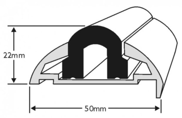 Wilks Dek-King Insert for Profile 604 a 605