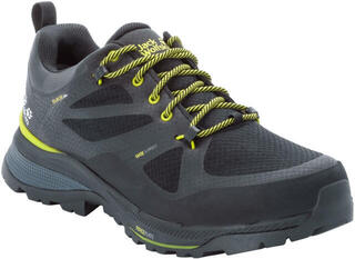 Jack Wolfskin Force Striker Texapore Low Black/Lime 9