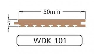 Wilks Dek-King WDK 101-10 50mm x 10m