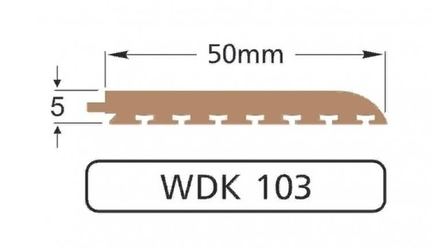 Wilks Dek-King WDK 103-10 50mm x 10m