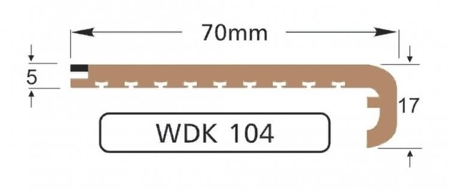 Wilks Dek-King WDK 104-10 70mm x 10m