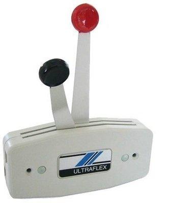 Ultraflex B47 Control Unit 2-Handle Grey