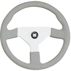 Ultraflex V38G/W Steering Wheel White-Grey
