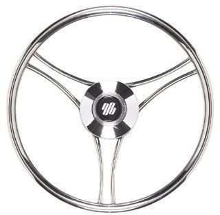 Ultraflex V21 Steering Wheel Stainless 350