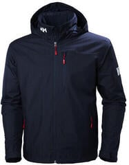 Helly Hansen Crew Hooded Midlayer Jacket Navy