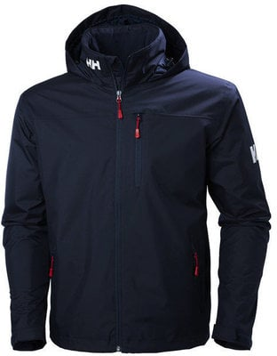 Helly Hansen Crew Hooded Midlayer Jacket - Navy - L
