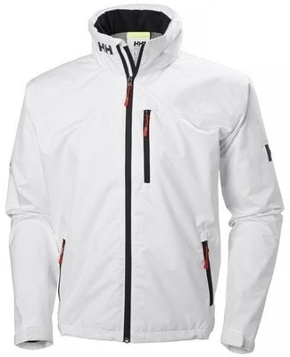 Helly Hansen Crew Hooded Jacket - White - XXL