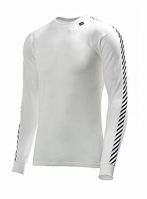 Helly Hansen Dry Stripe Crew White - M