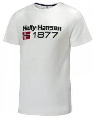 Helly Hansen GRAPHIC SS TEE - WHITE - S
