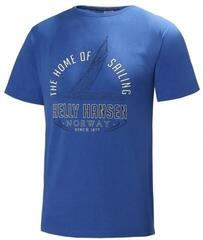 Helly Hansen GRAPHIC SS TEE Olympian Blue