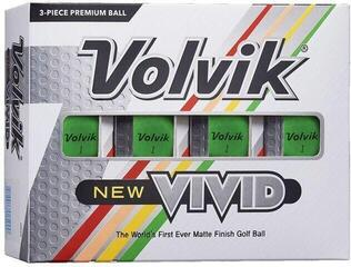 Volvik Vivid 2020 Golf Balls Green