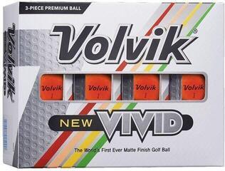 Volvik Vivid 2020 Golf Balls Orange