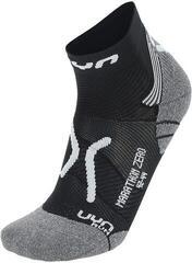 UYN Run Marathon Zero Schwarz-Grau-Weiß/Marathon Zero Socks
