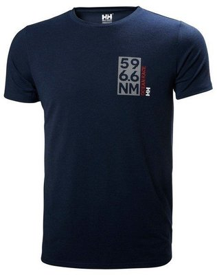 Helly Hansen HP Shore T-Shirt - Navy Blue - M