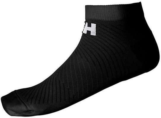 Helly Hansen LIFA Active 2-Pack Sport Sock Short - Black - 45-47