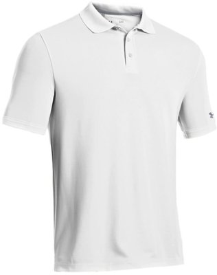Under Armour Medal Play Performance Polo White M