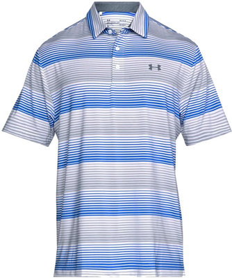 Under Armour Playoff Polo White/Overcast Grey S