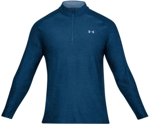 Under Armour Playoff 1/4 Zip Academy/Rhino Gray XL